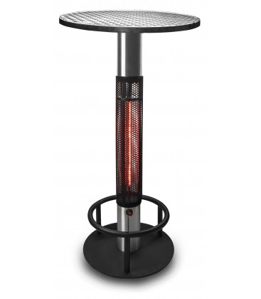 Terrace with Lacor 60 CM 1500W heater table