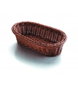 Cesta de pan oval marrón de Lacor