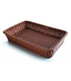 Cesta de pan rectangular marrón de Lacor