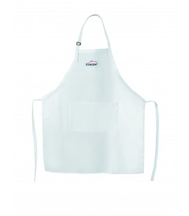Apron white marked Lacor Lacor