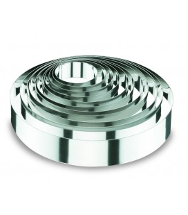 Mould ring round of 6 cm height of Lacor