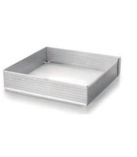 Aro cuadrado perforado de Lacor