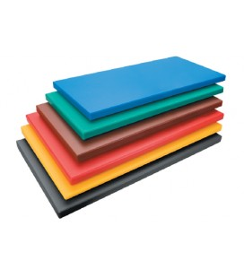Board cutting polyethylene Hd Gastronorm 1/2 black of Lacor