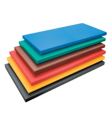 Board cutting polyethylene Hd black 1/1 Gastronorm of Lacor