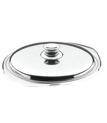 Couvrir la soupe en acier inoxydable 18 / 10 de Lacor